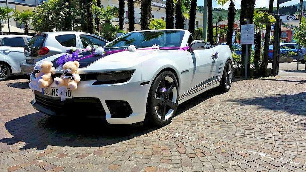 Atesina Noleggi - Chevrolet Camaro Bianca Cerimonie