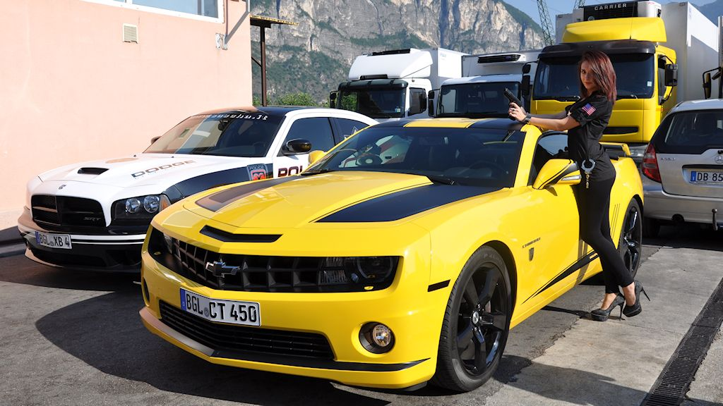 atesina noleggi – chevrolet camaro transformers edition
