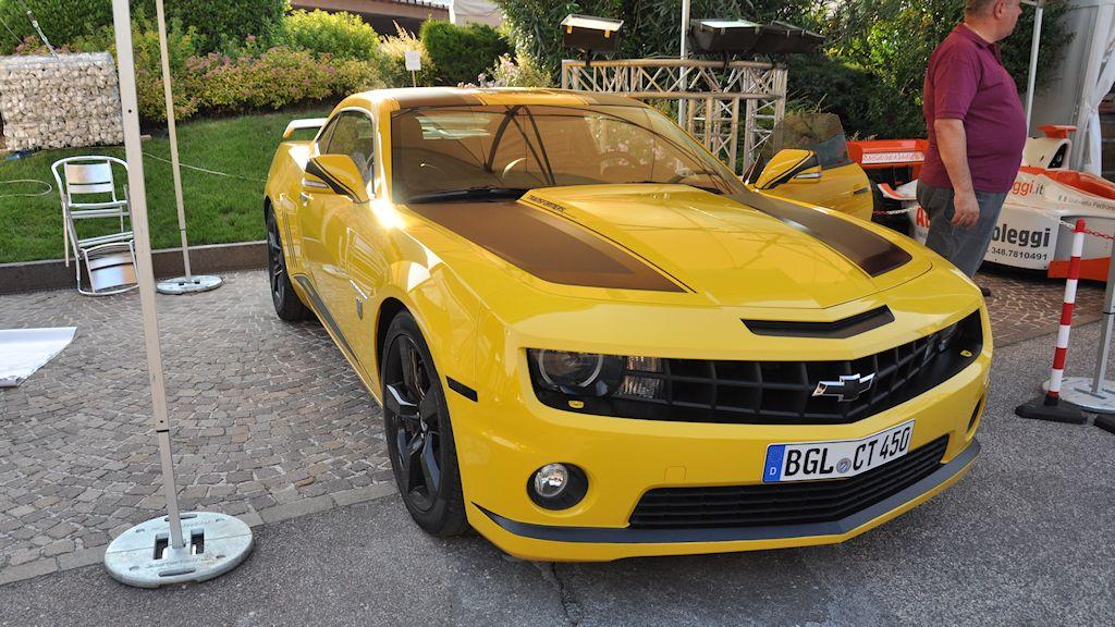 Atesina Noleggi - Chevrolet Camaro Transformers Edition
