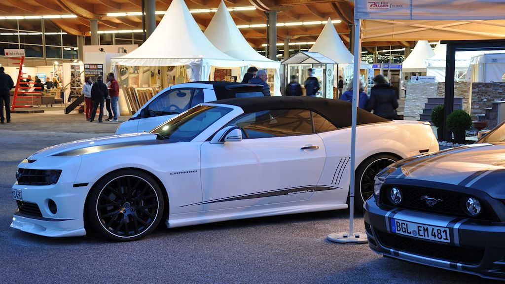 Atesina Noleggi - Chevrolet Camaro White Edition