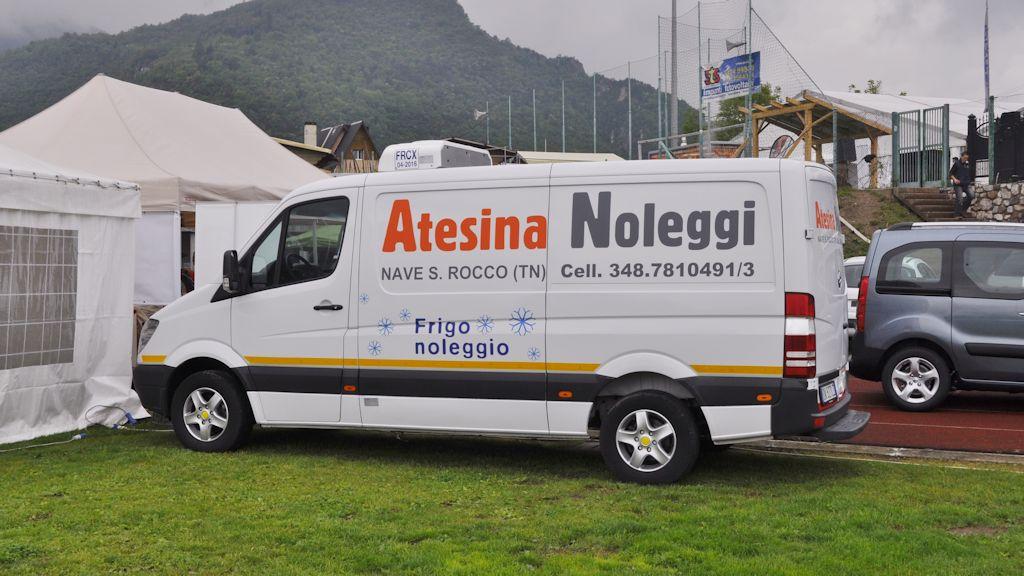 Atesina Noleggi - Mercedes Sprinter Frigo Coibentato