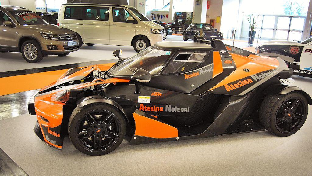 Atesina Noleggi - KTM X-Bow