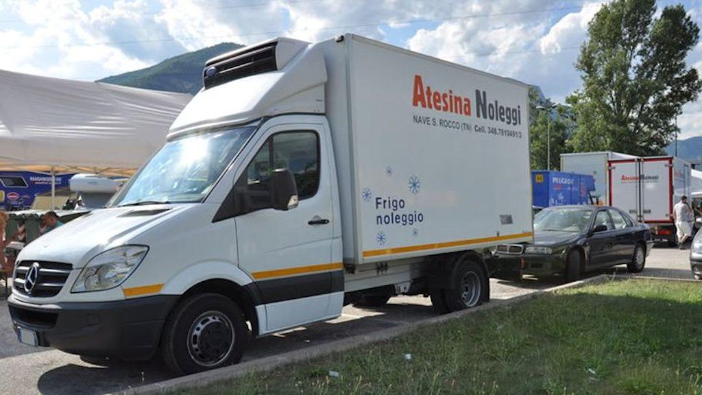 Atesina Noleggi - Mercedes Sprinter Frigo Cella MAXI