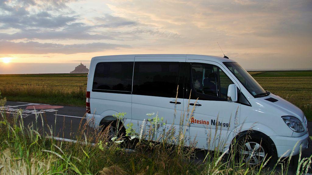 Atesina Noleggi - Mercedes Sprinter White Compact Minibus
